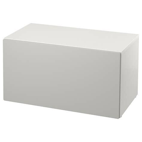 SMÅSTAD Banco con almacenaje juguetes   blanco/gris   IKEA