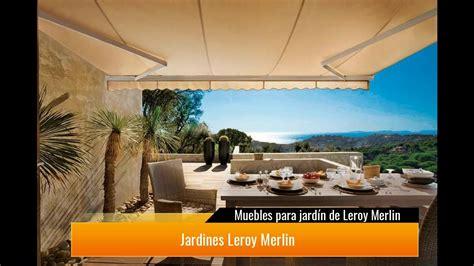 →Muebles para jardín de Leroy Merlin   YouTube
