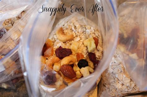 Snappily Ever After: Homemade Instant Oatmeal with Flavor ...