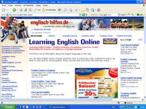 İngilizce Eğitim Öğretim Siteleri: English Hilfen