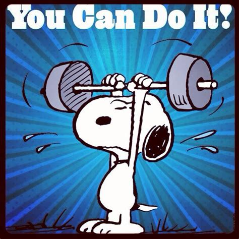 Snoopy  YOU CAN DO IT ! | Run | Pinterest | Snoopy