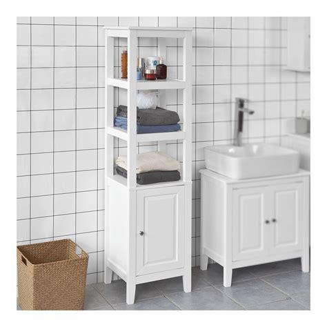 SoBuy Mueble columna de baño, Armario para baño ...