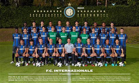 Soccer blog: Inter Milan Squad 2013