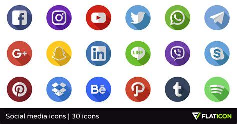 Social media icons 29 gratis iconos  archivos SVG, EPS ...