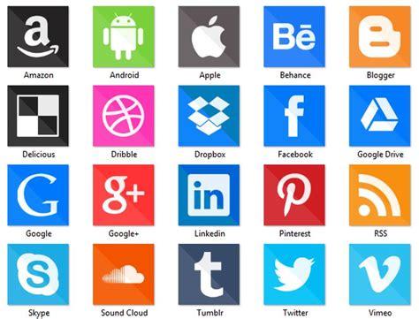 Social Media Icons: pack con 150 iconos sociales 2015 ...