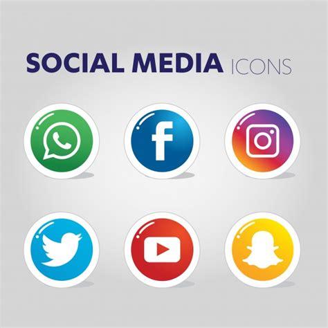Social media icons Vector   Premium Download