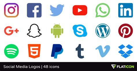 Social Media Logos 48 iconos gratis  archivos SVG, EPS ...