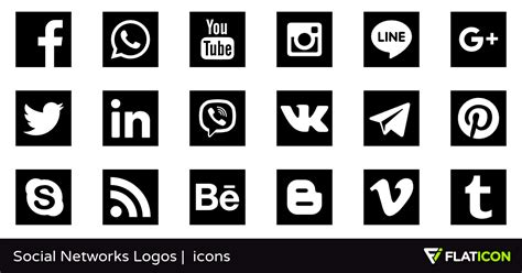 Social Networks Logos 29 free icons  SVG, EPS, PSD, PNG files