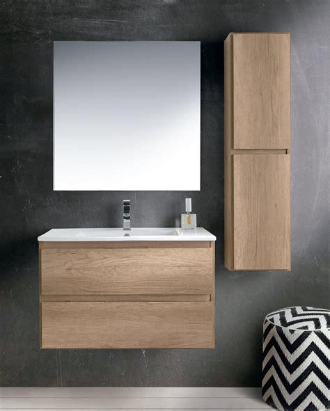 SOCIMOBEL Mueble de Baño Modelo MANILA Suspendido Fondo 40 cm.