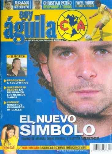 Socio Aguila Club America Revista Futbol Maa   $ 130.00 en ...