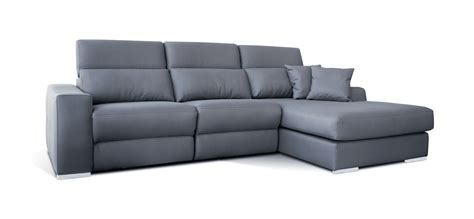 Sofá 3 plazas chaise longue relax modelo Kenai   OKsofás