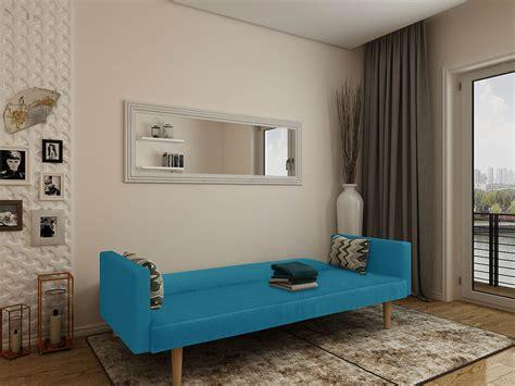Sofa Cama Cosmos  Azul  | Ideia Home Design, Sofás Online