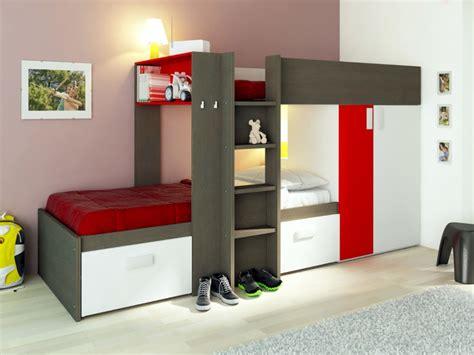 Sofa cama nido 90x190 cm de pino wengue o blanquedo ALFONSO