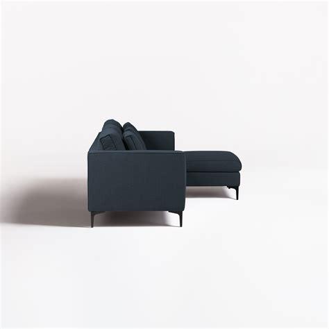 Sofá Chaise Longue 3 Plazas en Tela Akimi   SKLUM