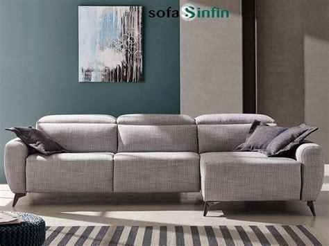 Sofá chaise longue con relax modelo Genio fabricado por ...