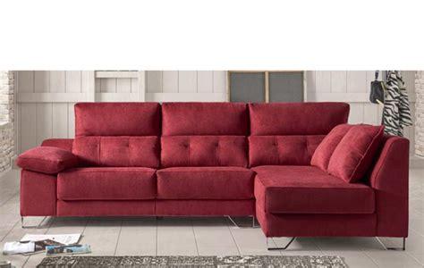 Sofá chaise longue de 3 plazas con viscoelástica de 289 cm ...