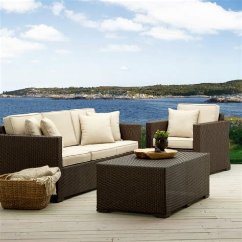 Sofá de exterior 50 diseños envidiables