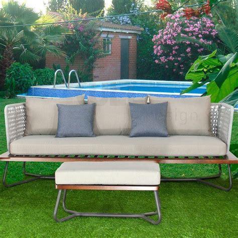 Sofá de jardín Rivera Style 3 plazas, inspirado en el ...