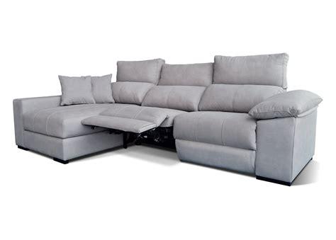 Sofá Relax 3 plazas con chaise longue modelo Seda   OKsofás