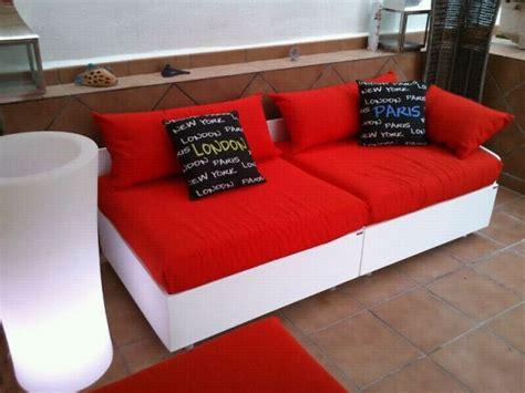 Sofas para terraza de palets en Bricolaje