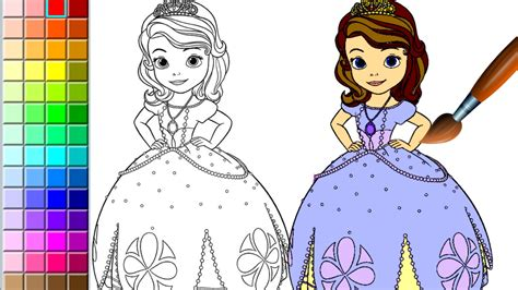Sofia the First   Disney Princess coloring games online ...