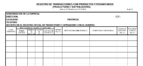 Software de gestion y contabilidad para fitosanitarios y ...