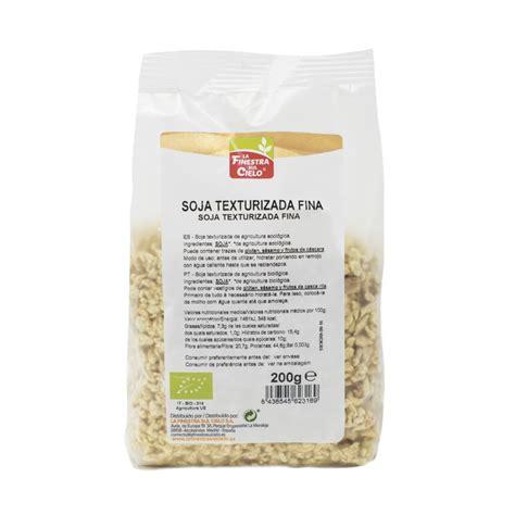 Soja Texturizada Fina Bio | Paquete de 200gr. | Compra ...