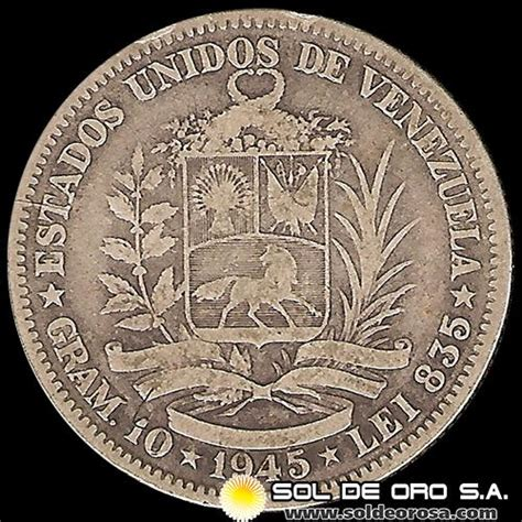 Sol de ORO S.A.   ESTADOS UNIDOS DE VENEZUELA   GRAMOS 10 ...