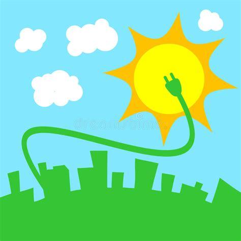 Solar energy stock vector. Illustration of elementary ...