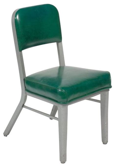 SOLD OUT! Vintage Metal Desk Chair by Steelcase   $850 Est ...