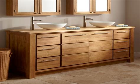 Solid oak bathroom vanity unit, bathroom vanities solid ...