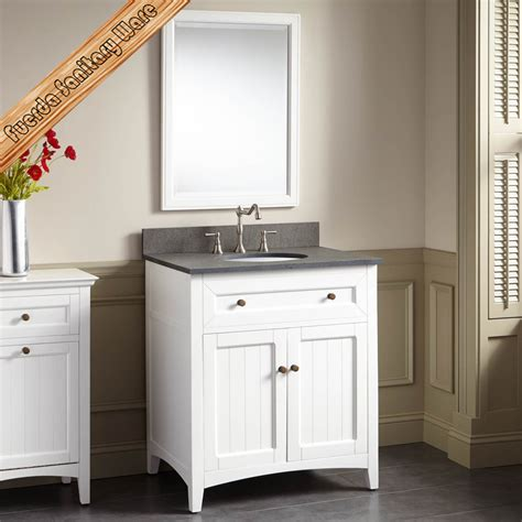 Solid Wood Bathroom Furniture Vanities Cabinet   Buy ...