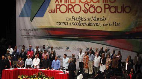 Solidaridad con Venezuela, el Foro de São Paulo – People s ...