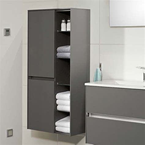 Solitaire 6010 Wall Hung Bathroom Shelf Unit 2 Revolving ...