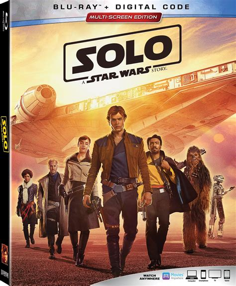 Solo: A Star Wars Story Blu ray details, special features ...