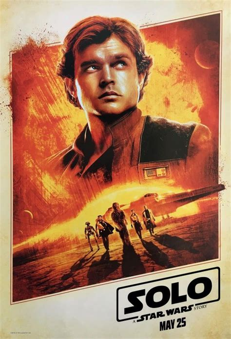 Solo: A Star Wars Story gets a new poster and official ...