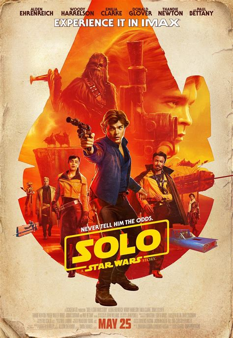 Solo: A Star Wars Story  IMAX Exclusive Poster Revealed ...