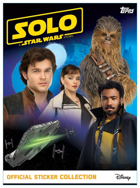 Solo: A Star Wars Story Official Sticker Collection ...
