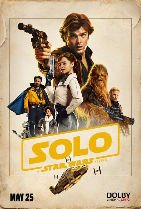 Solo A Star Wars Story Poster 4   blackfilm.com/read ...