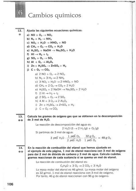 Solucionario   Fisica y Quimica   3 ESO   Santillana ...