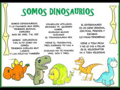 somos dinosaurios   YouTube