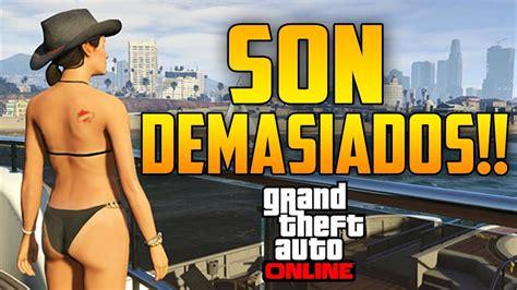 SON DEMASIADOS!!!   GTA V Online 1.10   Todos Contra Mí #3 ...