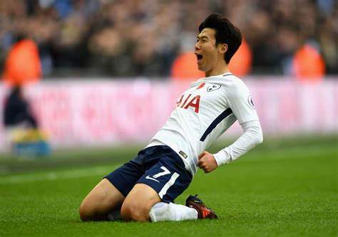 Son Heung Min is the Asian international player of the ...
