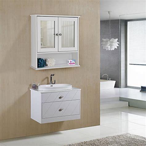 Songmics Armario para baño Organizador con 2 puertas y ...