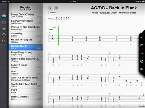 Songsterr Guitar Tabs   includes lessons and instant ...