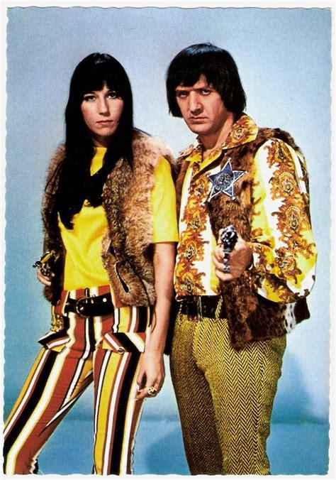 Sonny & Cher | German postcard by ISV, no. H 129. Sonny ...