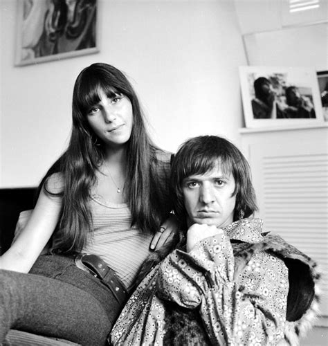 Sonny & Cher Portrait Session At Home Photograph by ...