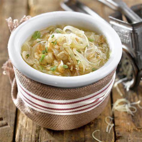 Sopa de cebolla con avena   Lecturas