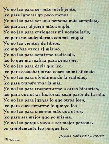 Sor Juana Ines De La Cruz!! | Frases y poemas, Frases ...