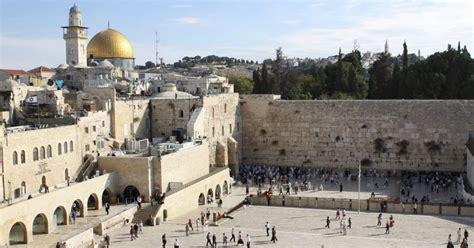 Sorpresa, sorpresa… La capital de Israel es Jerusalén ...